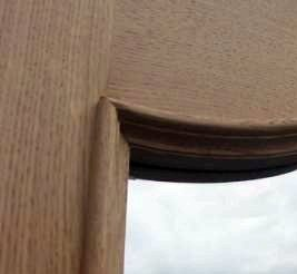 Tudor Reclamation and antiques Shrewsbury - Bevel Glazed Interior Oak Door