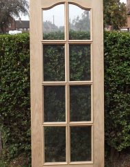 Tudor Reclamation and antiques Shrewsbury - Bevel Glazed Interior Oak Door