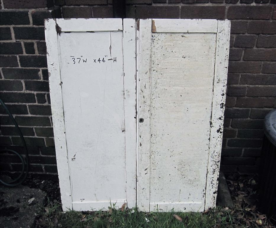 Tudor Reclamation and antiques Shrewsbury - Victorian cupboard door
