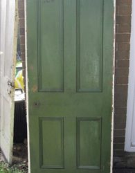 Tudor Reclamation and antiques Shrewsbury - Victorian Door