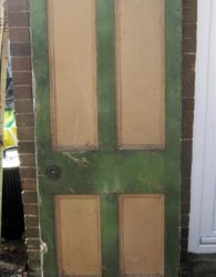 Tudor Reclamation and antiques Shropshire - Victorian Door